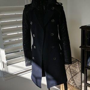 BCBG Max Azaria Military Coat